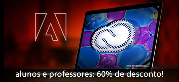 Software Adobe para Esudantes, com descontos